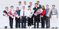 省机械学院冯为远院长和第44届世界技能大赛数控铣项目金牌获得者张志斌到我校传经送宝